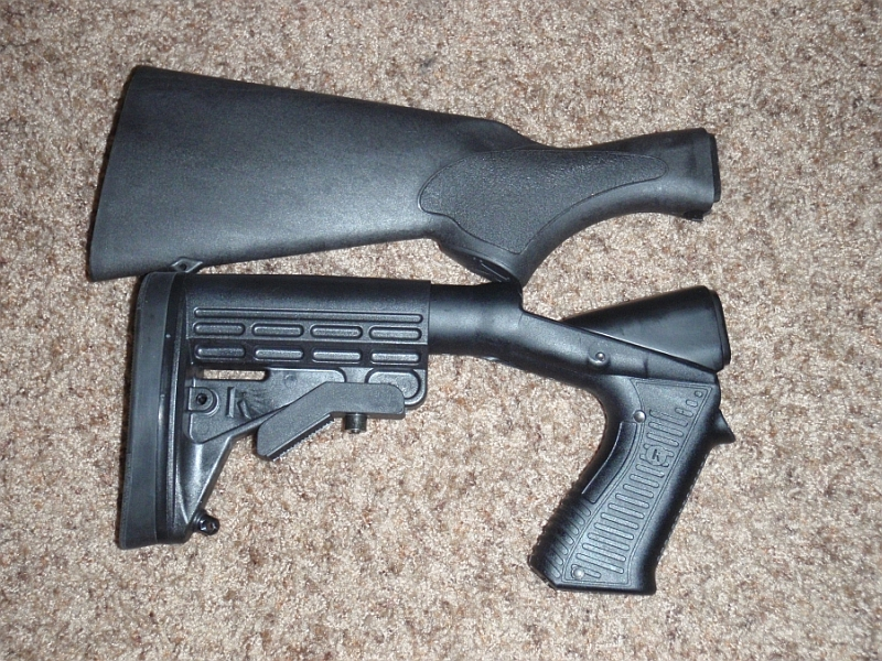 remington 870 tactical stock blackhawk